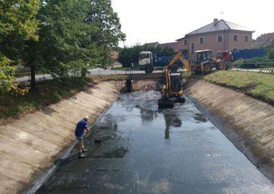 Čištění vodní nádrže II